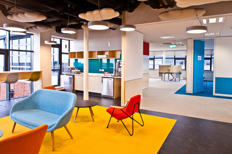 Sap office fit out parkmore campus galway nominated for Office fit out