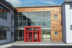 Ennis External Entrance Red