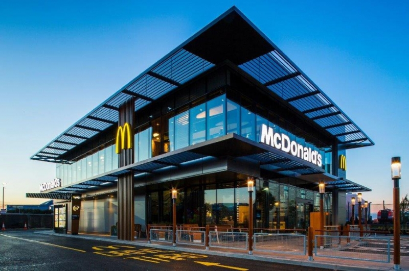 description of mcdonalds Mcdonald's is an american fast food  mcdonald's first filed for a us trademark on the name mcdonald's with the description drive-in restaurant .