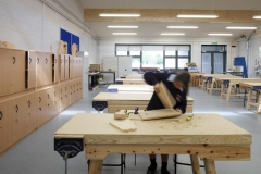 Mountrath School Internal Woodwork Room