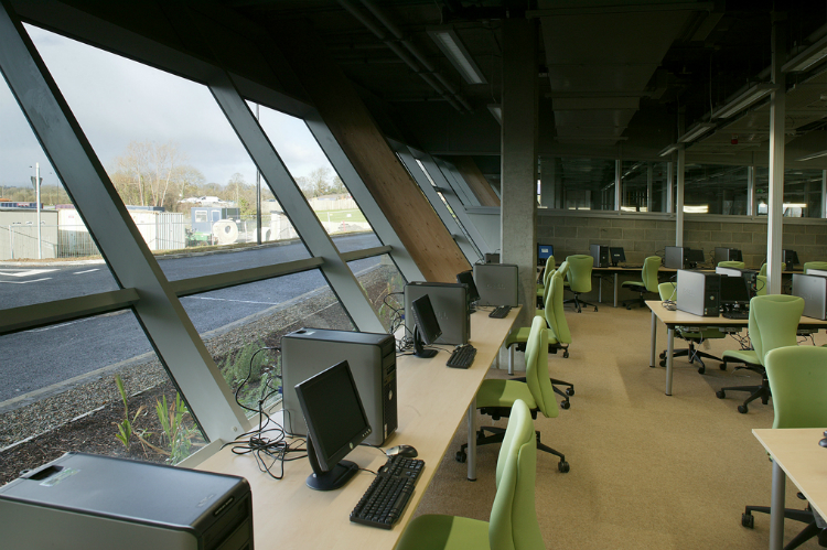 Third Level Health Sciences Building With Laboratories Occupational Therapy And Nurses Training Facilities Library Large Lecture Halls Restaurant Etc